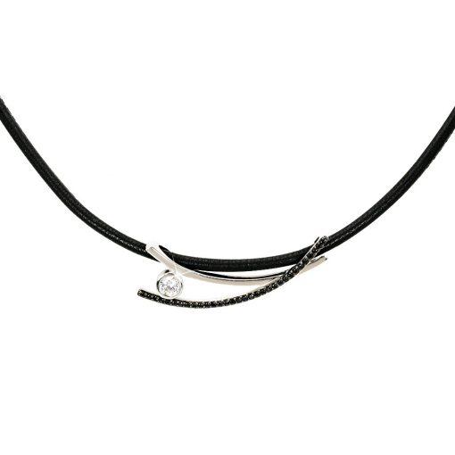 YVETTE RIES ezüst állítható nyakék - AGM064