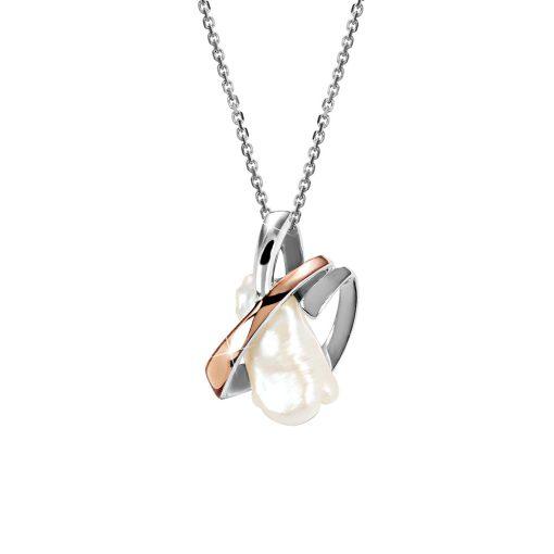 DESIGN ÉKSZER ezüst, nyaklánc medállal - AGM112