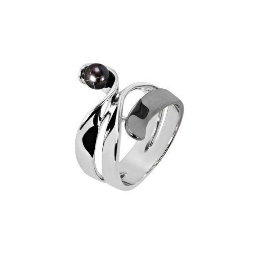 DESIGN ÉKSZER ezüst gyűrű - AGM113