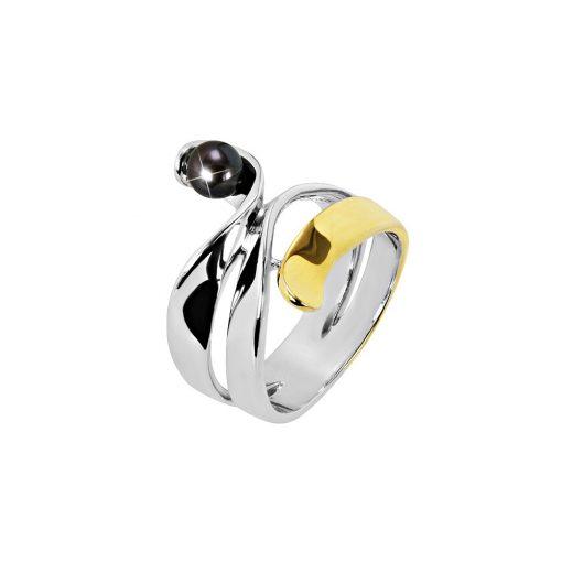 DESIGN ÉKSZER ezüst gyűrű - AGM115