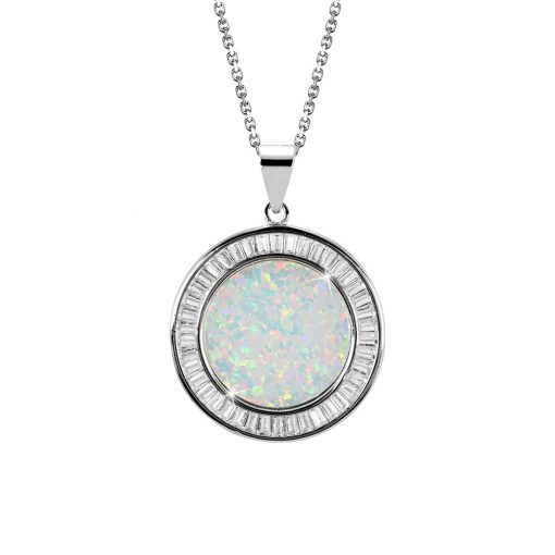 DESIGN ÉKSZER ezüst, nyaklánc medállal - AGM182