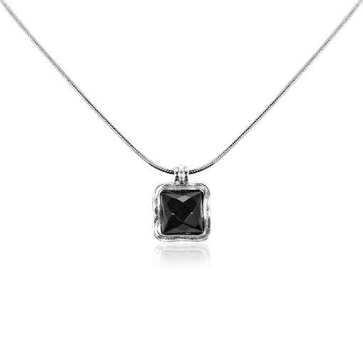 IZRAELI ezüst ékszer, nyaklánc medállal - AGM214