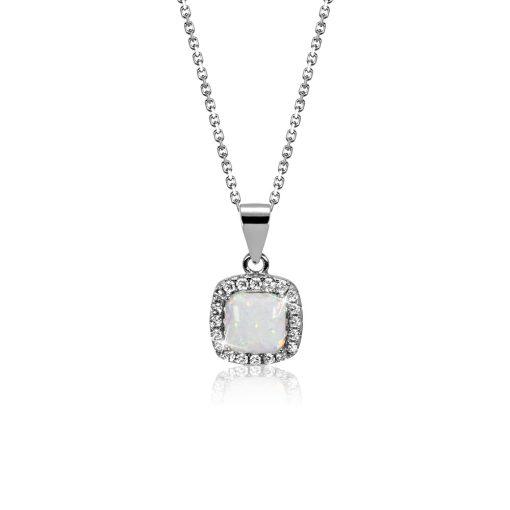 DESIGN ÉKSZER ezüst, nyaklánc medállal - AGM305
