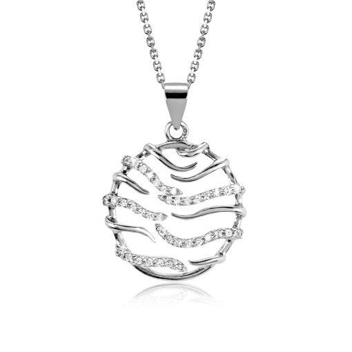 DESIGN ÉKSZER ezüst, nyaklánc medállal - AGM310