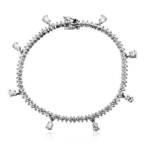 DESIGN ÉKSZER ezüst karkötő - AGM656
